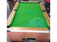 Super League Slate Bed Pool Table