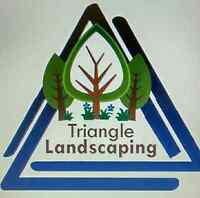 Triangle Landscaping - FALL CLEAN UP, Free quotes!