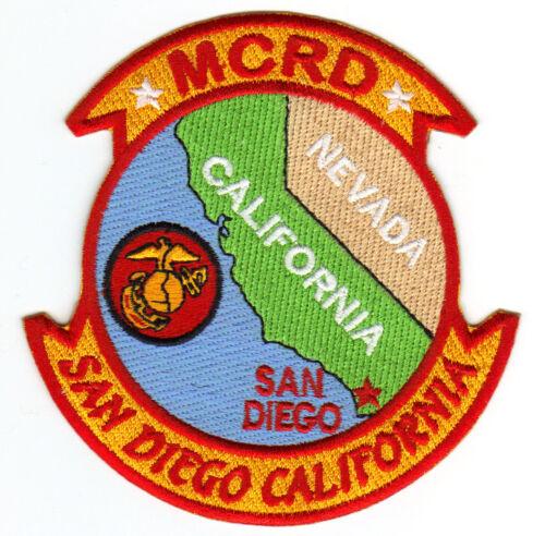MCRD SAN DIEGO, CALIFORNIA,             Y