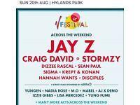 V Fest tickets