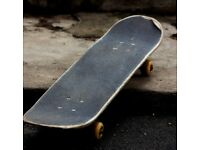 Looking for an unused or damaged skateboard