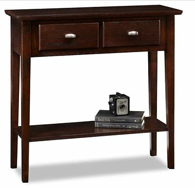 Oak Console Tables For Foyer Entryway Living Room Accent Hallway Sofa Storage, used for sale  USA