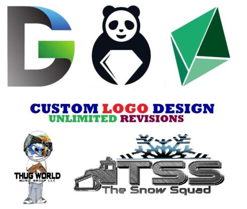 PROFESSIONAL LOGO DESIGN ⭐UNLIMITED REVISIONS⭐ | ⚡24 Hour Delivery⚡ CREATIVE ART