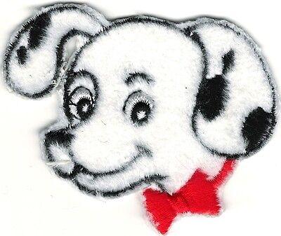 (Cartoon Dalmatian Portrait Embroidery Patch)