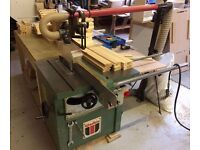 WADKIN AGS 10 INDUSTRIAL COMPACT SAW BENCH 3 PHASE 415V