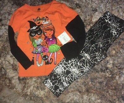 Girls Long Sleeve Wickedly Cute Halloween Outfit Size 2T 3T - Cute Halloween Outfits