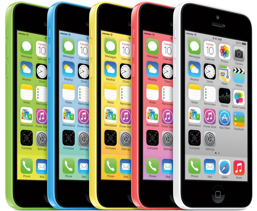 MANUFACTURER REFURBISHED APPLE IPHONE 5C 8GB / 16GB MULTIPLE COLOURS VARIOUS NETWORKS SMARTPHONE