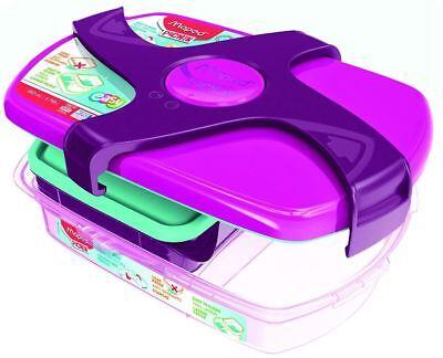 Maped PICNIK Brotdose CONCEPT LUNCH-BOX pink 1,78 l groß 2 Fächer Mädchen Schule