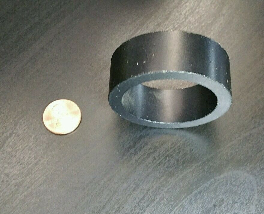 "1 Huge Neodymium N40 Ring Magnet Super Strong Rare Earth  2"""