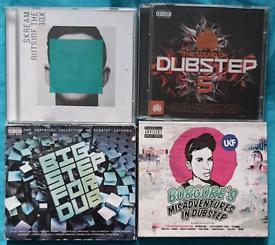4 VARIOUS DUBSTEP CD ALBUMS