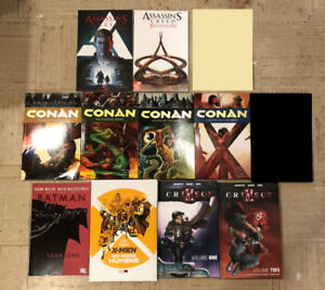 Comics, Graphic Novels - Batman, X-Men, Crimson, Conan