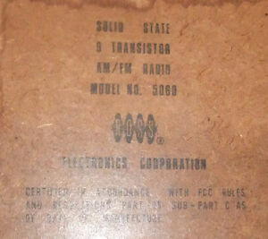 Solid State 9 Transistor AM/FM Radio 5060 West Island Greater Montréal image 2