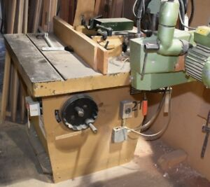 SCM T120C SHAPERS * SAWS * POWER TOOLS * CLAMPS* COMPANY CLOSING