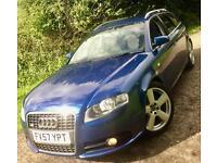 Audi A4 Avant 2.0TDI**S Line 140 Estate 7 Speed**FULL-Audi History,Superb!**