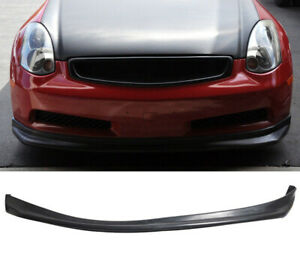 2003-2007 INFINITI  g35 base coupes front bumper lip