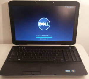 "Dell Latitude 15.6"" laptop Core i5 with SSD - HDMI - Backlit key"