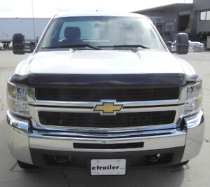 Chrome Bug Deflector 07-10 Silverado 2500-3500 - Sale