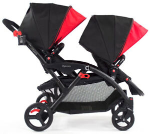 Almost brand new Contours Options double stroller