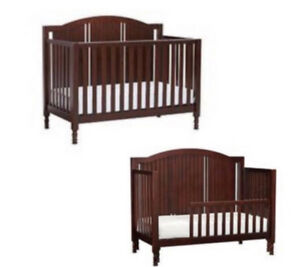 Pottery Barn 3 in 1 Catalina Crib (Chocolate Brown)