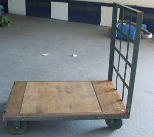 Push Cart Trolley with handle on one side London Ontario image 1