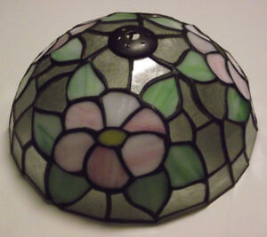 One-of-a-Kind Stained Glass Lamp Shade