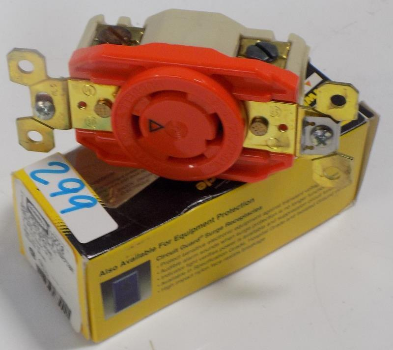 HUBBELL HBL RECEPTACLE TWIST-LOCK IG2710 3P 30A