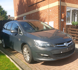 Astra j front end