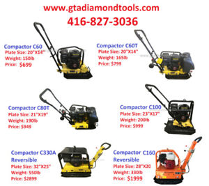 Tamper Plate, Compacter, Jumping jack, Brand New 1 year warranty