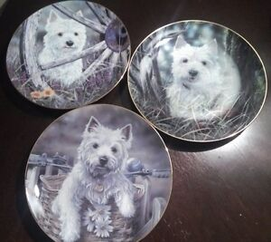 END OF THE MONTH SALE on  WEST HIGHLAND TERRIERS PLATES