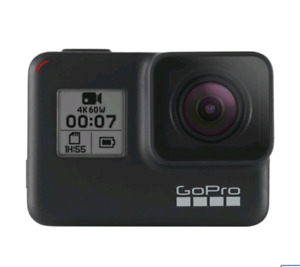 GoPro HERO7 Waterproof HD Sports & Helmet Camera - Black