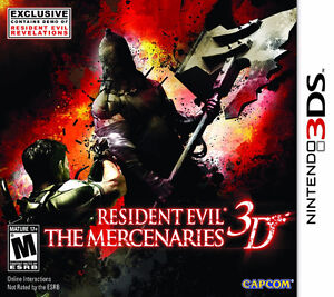 Resident Evil - The Mercanaries 3D - Exclusive - 3DS GAME