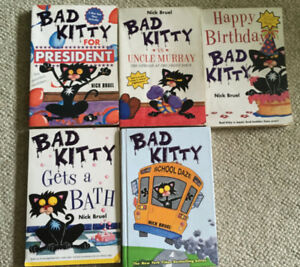 bad kitty books (good for 7-8 yr olds)