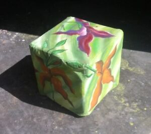 Hand painted Foot Stool