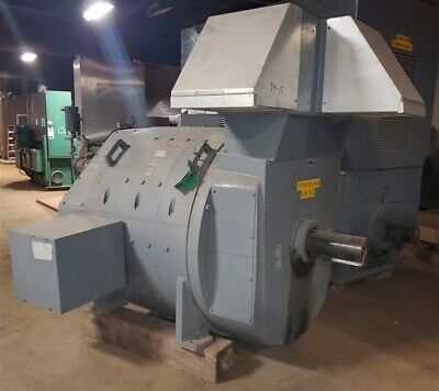 1000 Hp Ge Dc Electric Motor 500 Rpm 1180 Rpm 500 Volts Dc 8742