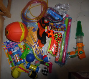 Large lot of small outdoor toys$10, NEW double dutch skippers $3 Kitchener / Waterloo Kitchener Area image 1
