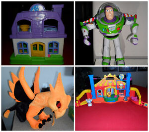 Buzz Lightyear, Little People Doll House & Circus, Dragon