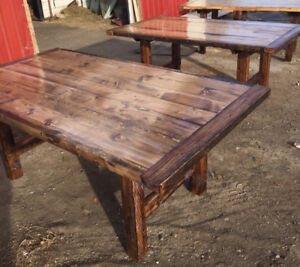 Rustic Farmhouse Dining Tables!