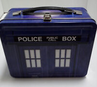 Doctor Who TARDIS Tin Tote Lunch Box