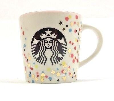 NIB Starbucks Demi Confetti Espresso Mug 3 Ounce in gift box