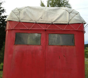2-horse straight haul trailer- great condition- all ready to go Williams Lake Cariboo Area image 6