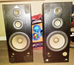 I have a set of speakers with a 10in sub in each one