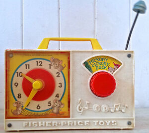 Vintage 1964 Collection. FISHER PRICE Hickory Dickory Dock