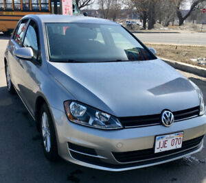 2015 VW Golf TSI Manual Low Kms