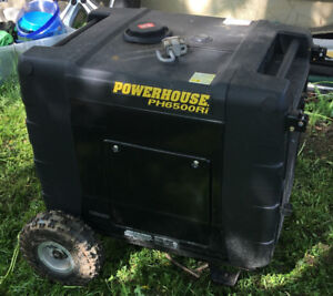 RV Generator: PowerHouse 6500 Ri....never used.