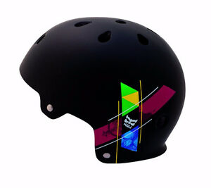 New Kali Maha Graphix Helmet - Black - BMX / Bike / Skateboard