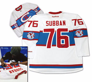 PK SUBBAN Winter Classic Jersey Signed with COA!