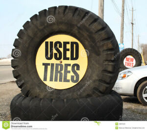 used tires , large selection, starting at twenty five