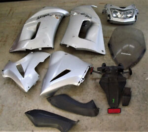 Complete Fairing + screen + tailight assembly Ninja 650R