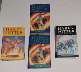 HARRY POTTER RARE FIRST EDITIONS.£30 each or all 4 for £100.