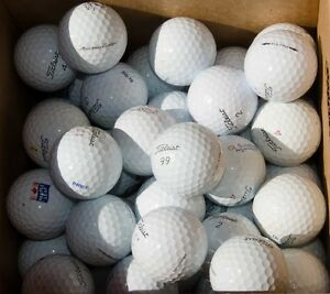5 DZ-60 balles de GOLF Titleist PRO V1 ou PRO V1X